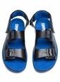 Camper Deri Sandalet Lacivert